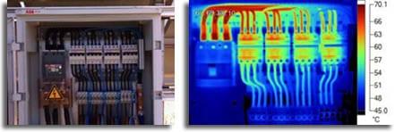 Thermografia ilektrologikou pinaka